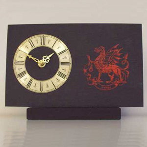 Slate Dragon Mantle Clock