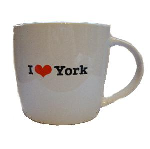 I Love York Mug