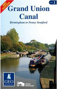 Grand Union Canal: Birmingham to Fenny Stratford Map 1