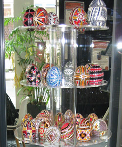Art in Miniature: Hand-decorated eggs from Romania at Whitstable Museum and Gallery