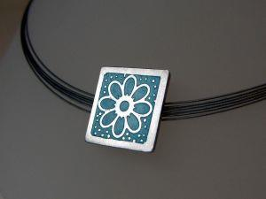 Etched Enamel Jewellery Making