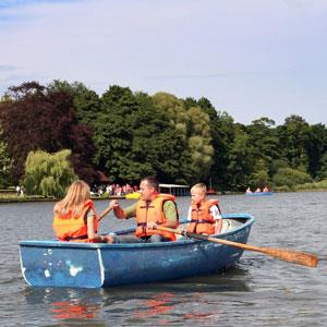 Rowing Boats on Fritton Lake
