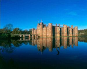 Herstmonceux Castle, near Eastbourne