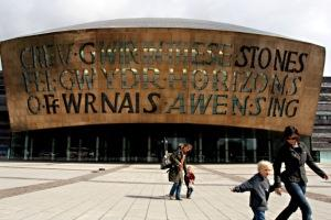 Wales Millenium Centre - Photo By Neil Bennett
