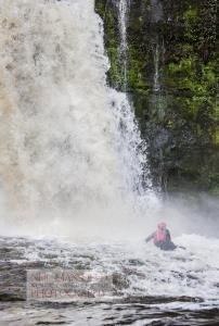 Canyoning in Wales with Call of the Wild
