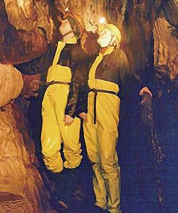 Caving in Brecon Beacons