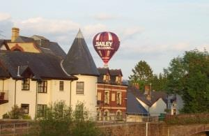 Bailey Balloon over Usk