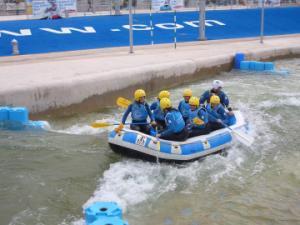 Cardiff International White Water Rafting