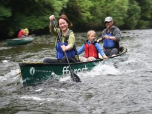 Guided Canoe Trips on the Teifi