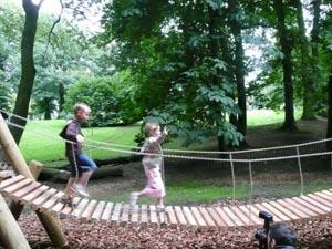 Nostell Priory adventure playground