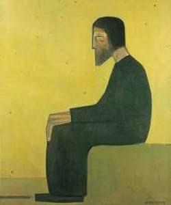 Jacob Kramer, The Jew (Meditation), 1916