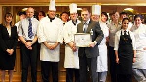 Winning Best Restaurant 2011