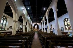 Interior of St Giles Parish Church