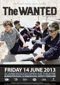 The Wanted live at Scarborough Open Air Theatre