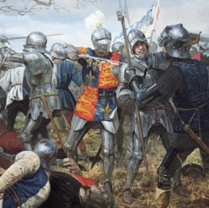 The battle of Wakefield
