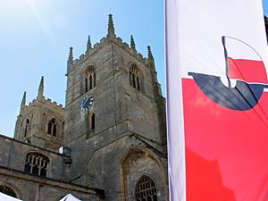 King's Lynn Minster on Hanse Day