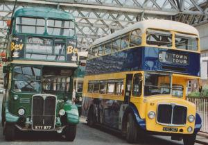 Vintage Bus Running Day - copyright David Jukes
