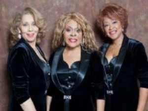 The legendary THREE DEGREES