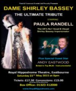 Dame Shirley Bassey – The Ultimate Tribute