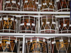 Royal Sussex Regiment drums