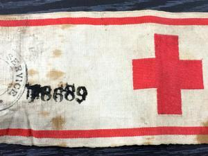 WW1 Medical arm band
