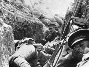 Helles Troops in Trenches