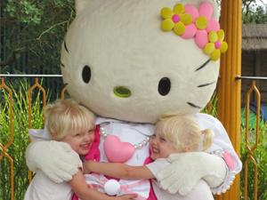 Hello Kitty at Drusillas Park, Eastbourne
