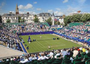 AEGON International tennis in Eastbourne