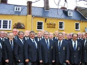 Male Voice Choir at the Kings Arms
