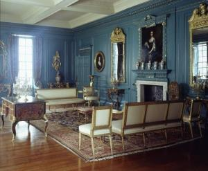 Blue Drawing room of Treasurer's House