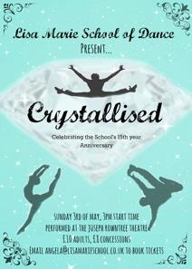 Crystallised - Our 15th Anniversary Show