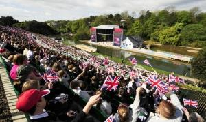 The Queen's visit to the Open Air Theatre