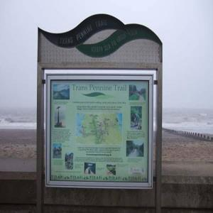 Transpennine Trail Sign