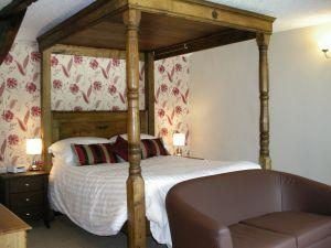 Room 3 - four poster double en-suite room