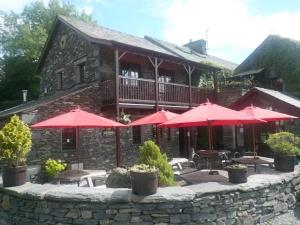 Watermill Inn beer garden