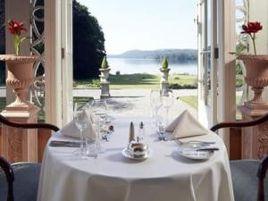 Storrs Hall Hotel terrace restaurant