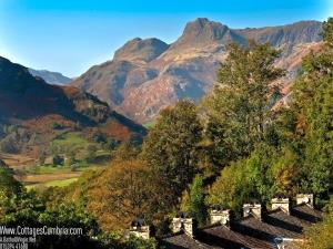 2 &amp; 7 Lingmoor View, view to Langdale Pikes