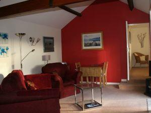 Birslack Grange Cottage living room