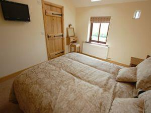 The Old Byre bedroom