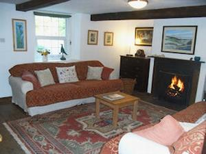 Wallace Lane Farm guest lounge