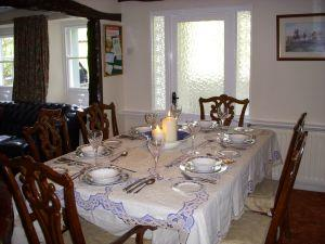 Talbot House dining room