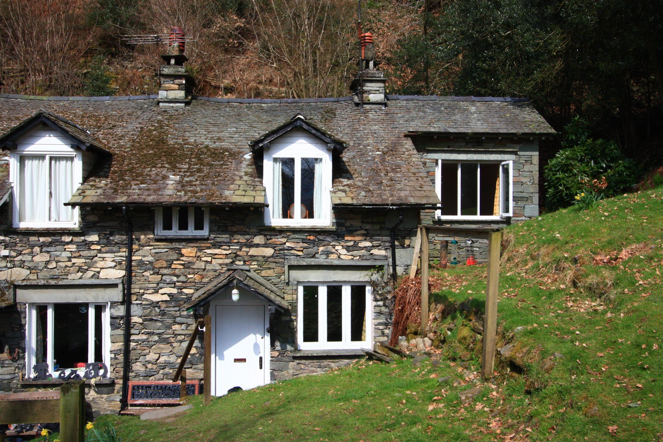 3 Tarn Cottages from garden