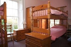 Plas Dolau - a bunk room