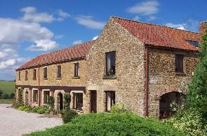 Sunset Cottages - converted from the farm granary. six properties.