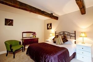 Bedroom at the Gamekeeper's cottage