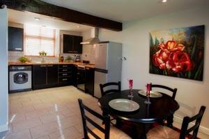 Kitchen at the Gamekeeper's Cottage