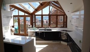 Scarborough Fair's modern kitchen & conservatory