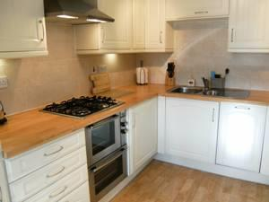 The bright and spacious fully fitted kitchen