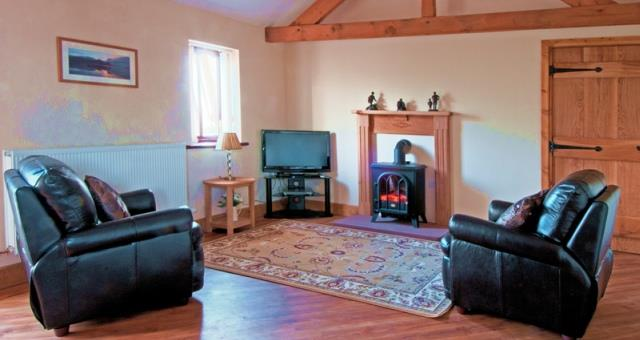 The Old Byre Living Room