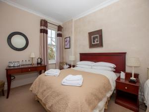 Bedroom @ Elan Valley Hotel